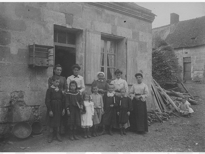 Fondation Grancher dans le Loir et Cher en 1900