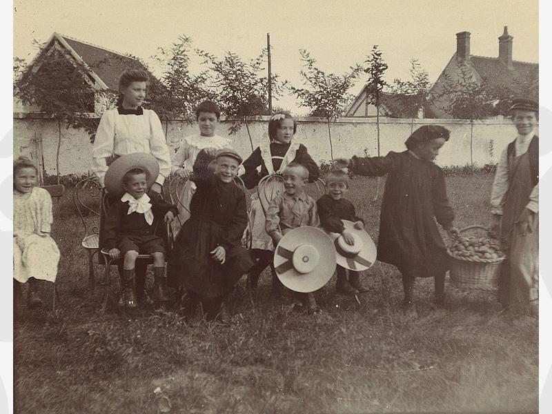 Vers 1907 Filliale de Ponlevoy (Loir et Cher)