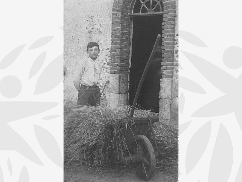 Edgar accueilli à l'Oeuvre Grancher au Foyer de Villefranche dans le Loir et Cher