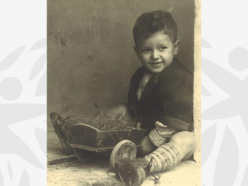 Enfant accueilli à l'Oeuvre au début des années 1930