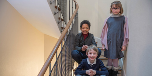 Les jeunes de la Fondation Grancher